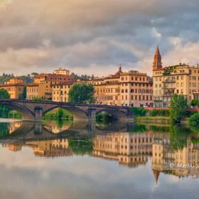 The morning Golden Hour in Florence, Italy was both breathtaking and inspirational.