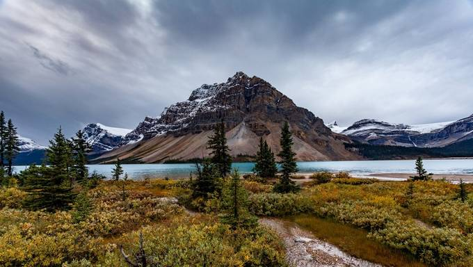 Bow Lake by markharrop - Sweeping Landscapes Photo Contest
