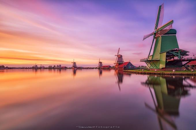 Zaanse Schans by DennisartPhotography - Around the World Photo Contest By Discovery