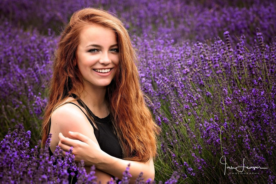 A one day opportunity to shoot in an uncut lavender field.