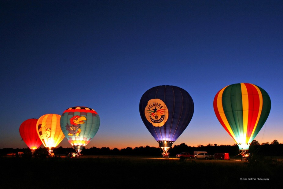 Poteau Balloonfest in Poteau, Oklahoma