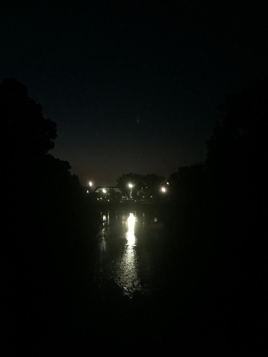 Evening walk to Ivey Park.