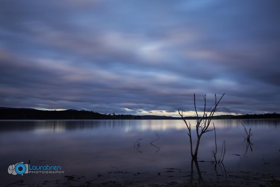 Blue Rock Lake -1