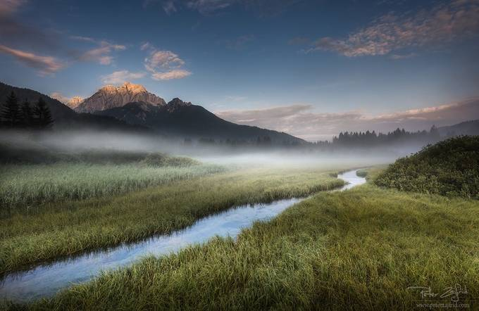 Touch of the morning sun by saintek - Streams In Nature Photo Contest