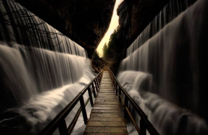 And the waters were divided... by Dolcefoto - Boardwalks Photo Contest