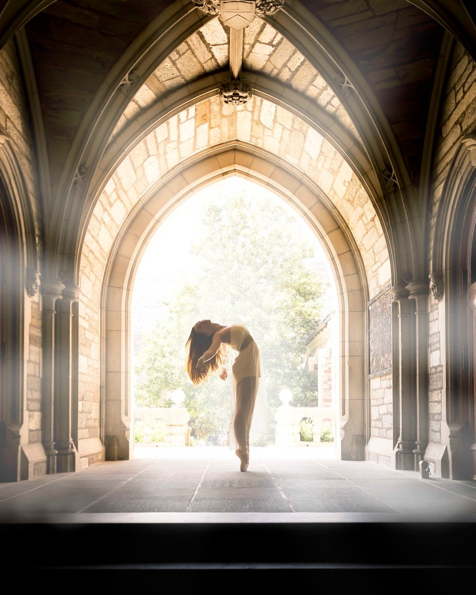 Ballet Arches by doemiso - Layered Compositions Photo Contest