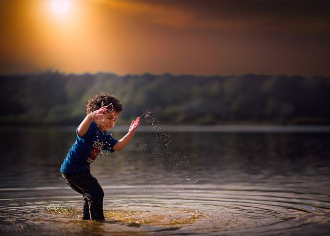 FunTimes by rbhalla - Kids And Water Photo Contest