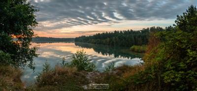 Cloudy Sunrise View