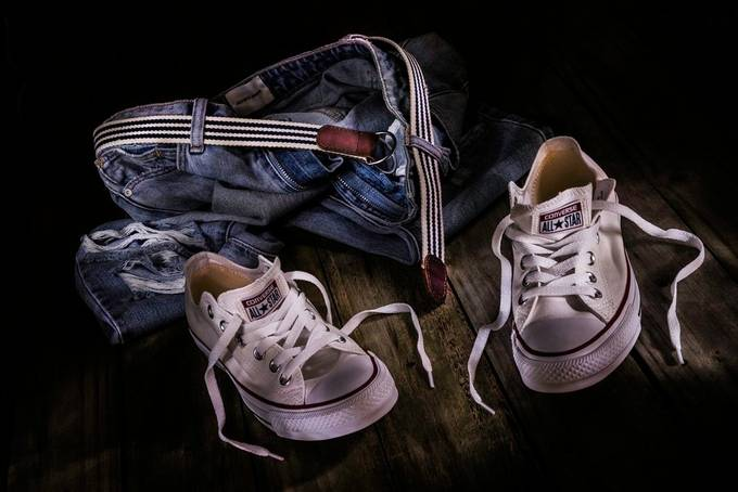 White Shoes & Jeans by ronsmith - Compositions 101 Photo Contest vol3