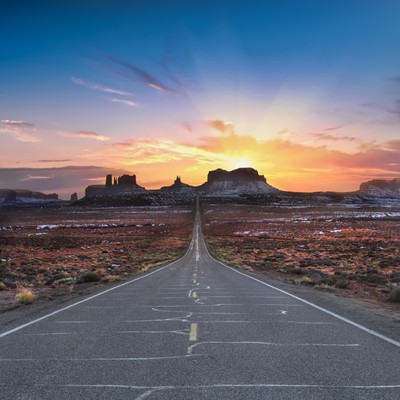 The Long Road to Monument Valley