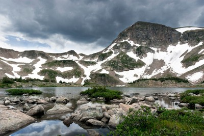 Rawah Glacial Lake
