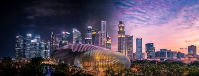 Day and Night in Singapore