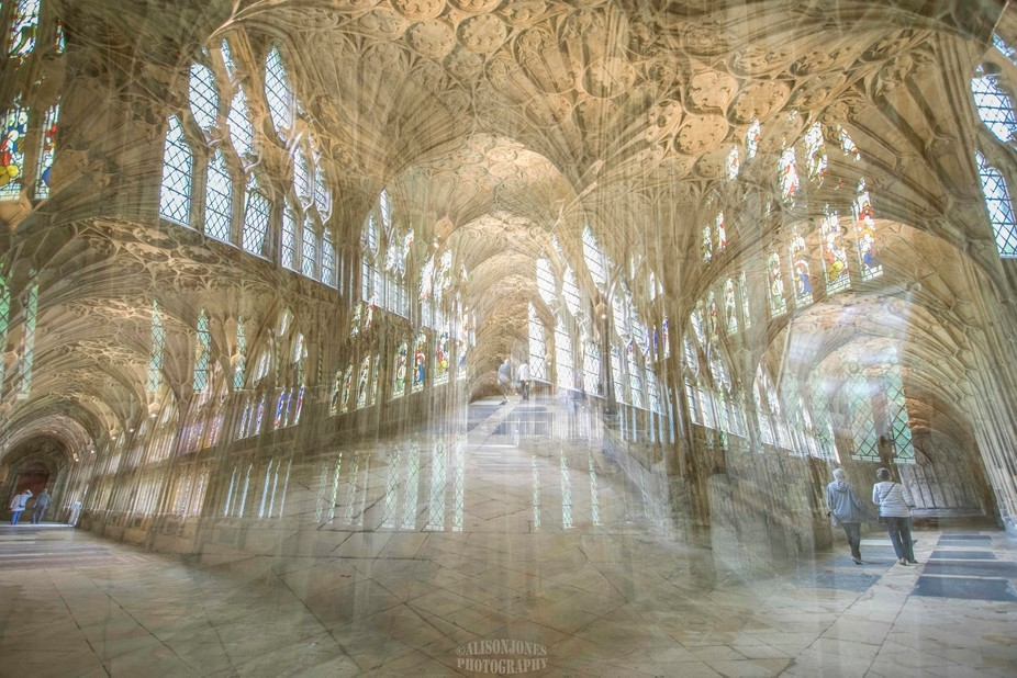 I love turning well known places into something different and often abstract using multiexposures...