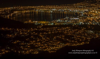 Night Life Lights - Dunedin, New Zealand