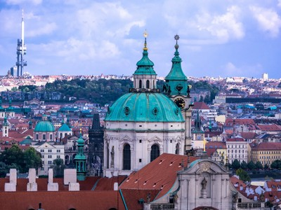 On top of Prague