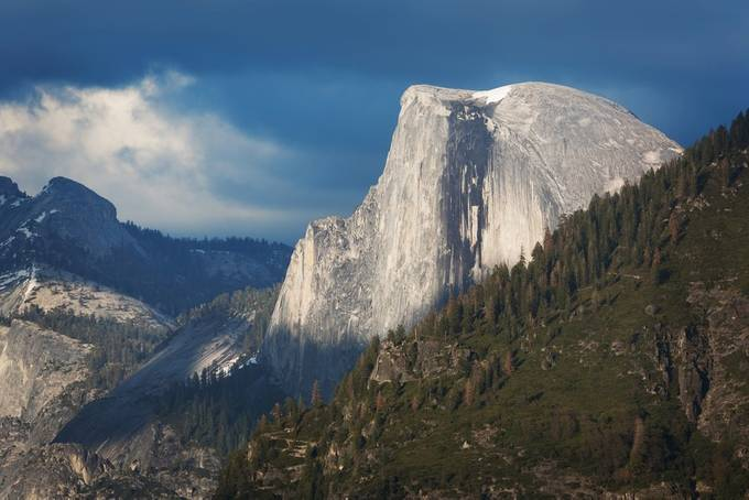 The One and the Only Half Dome by weshardaker - Blue Skies Photo Contest