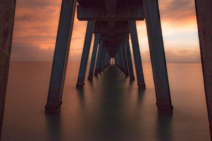 A LOOK UNDER THE PIER by JOPIZ - Stillness Photo Contest