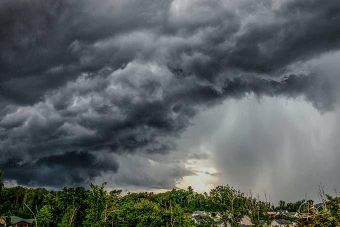 Rain Storm by mrjcall - A Storm Is Coming Photo Contest