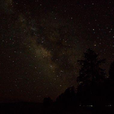 Bryce Canyon at night,