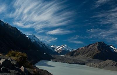 Glacier at Mount Cook NZ