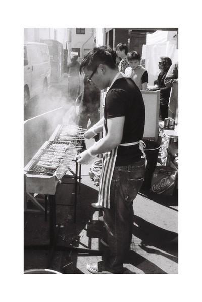 Street photography of street food