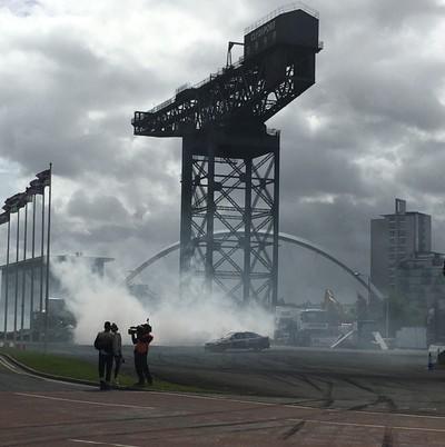 Ignition festival Glasgow drifting