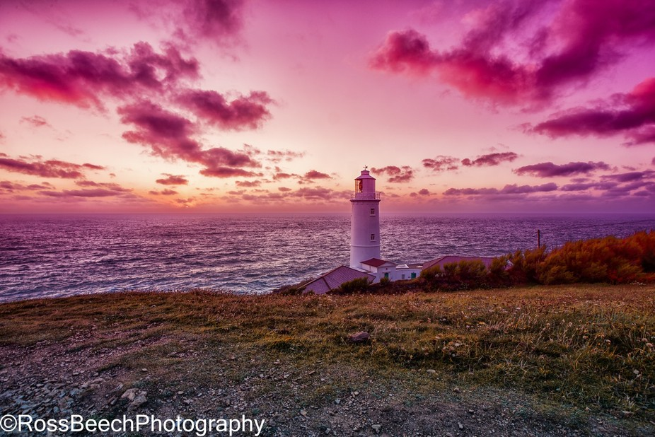 This was taken down at trevose head in cornwall.
