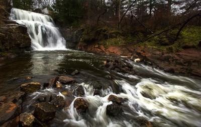 Redstone Waterfall