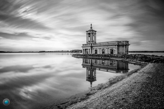 Rutalnd Water Long exposure by NigelBarker - Structures in Black and White Photo Contest