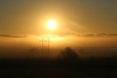 Morning Fog and a Sunrise