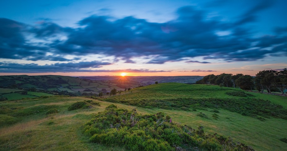 A summer sunset taken on Mynydd Illtyd in the Brecon Beacons, Wales, UK.  If you like my photogra...