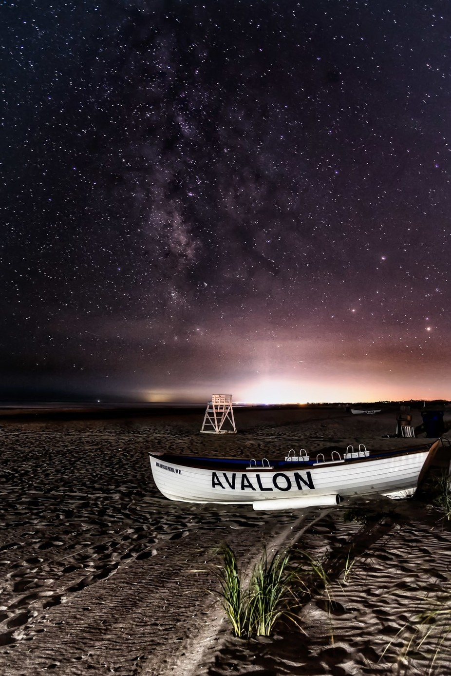Avalon Night by saraascalon - Letters And Words Photo Contest