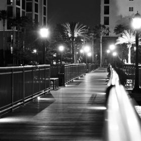Boardwalk of our hotel in Florida that I spent a lot of time at. Was so pretty!