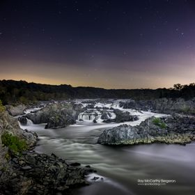 Great Falls, VA at Night
