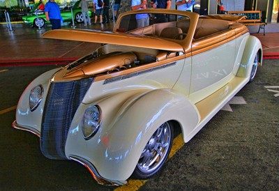 1937 Ford Roadster Convertible.