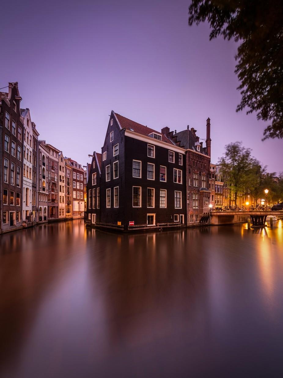 Amsterdam Summer Dawn by Merakiphotographer