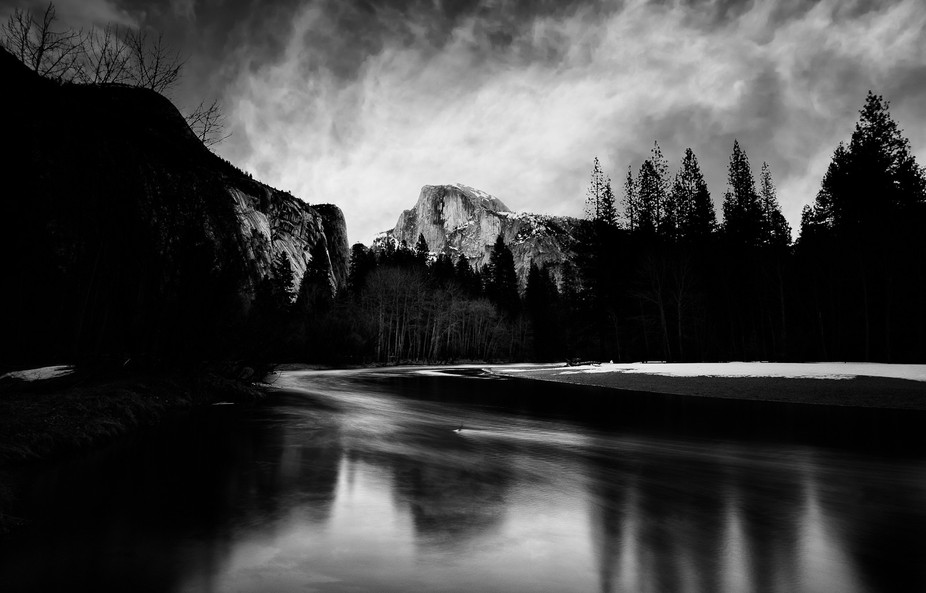 Captured during an early morning hike in Yosemite this Winter.