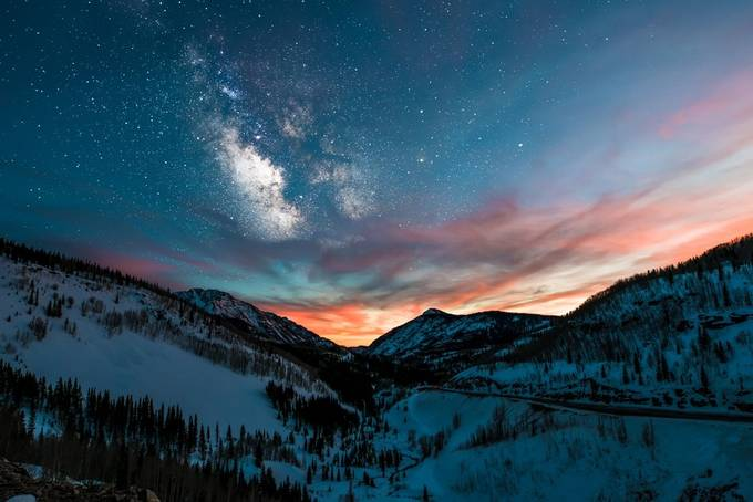 Symphony of Stars by scunningham - Rugged Landscapes Photo Contest