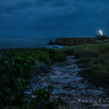"""Passion between the storm"" Los Morrillos Lighthouse, Cabo Rojo, Puerto Rico"