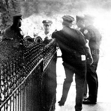 Cops Washington Sq Park