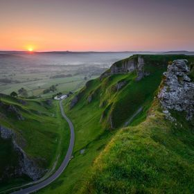 Winnats pass in the Peak District, a great location for your cam
