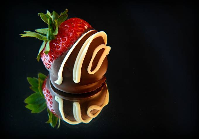 Chocolate Dipped Strawberry by photosbykathys - Delicious Photo Contest