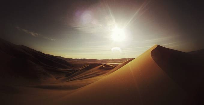 Sand Mountain, NV by AMIndustries - Unforgettable Landscapes Photo Contest by Zenfolio