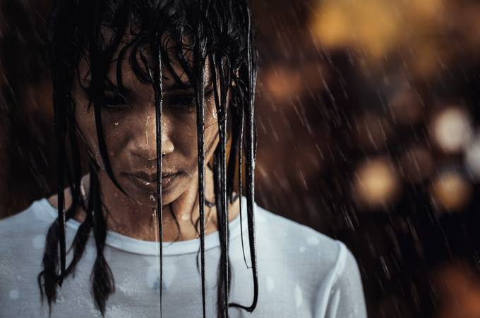 wet here by PoloD - Rain Photo Contest