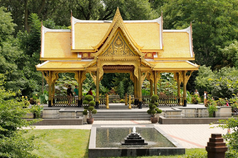 A pavilion, or sala, is a common structure in Thailand generally used as a shelter from rain and ...