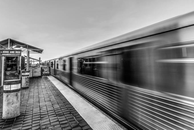 Miami Metrorail by PhilMcCabe - Public Transport Hubs Photo Contest