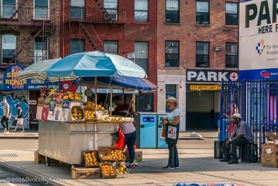 On a Brooklyn street corner