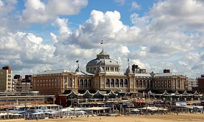 Coast of North Sea  in the Hague.