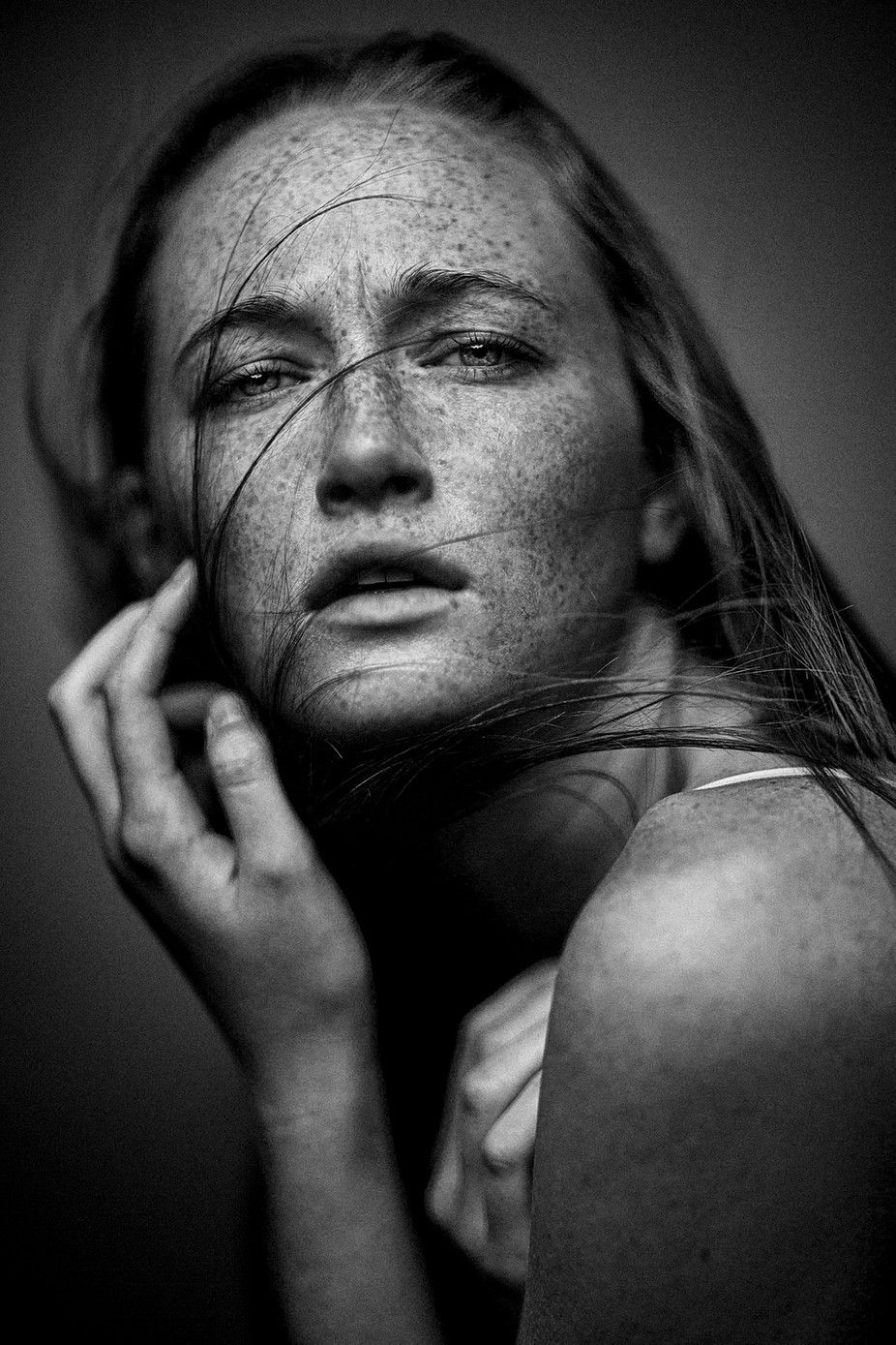 Lauren   by PaulHenryStudios - Faces With Freckles Photo Contest