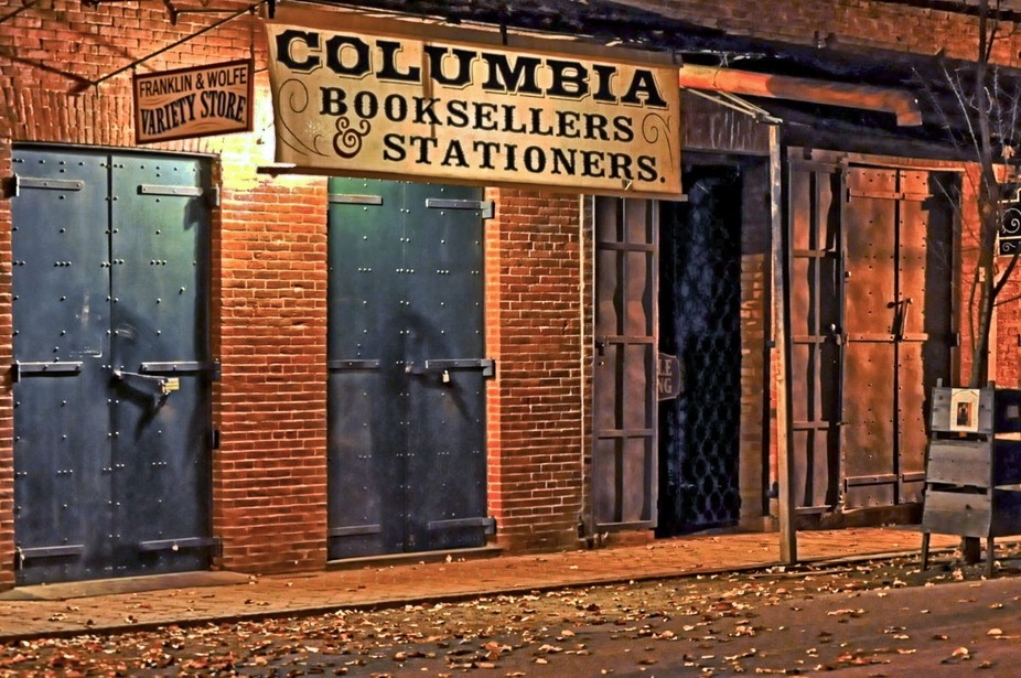 Columbia California was founded as a boomtown in 1850 when gold was found in the vicinity, and wa...